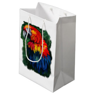 parrot medium gift bag