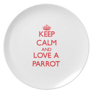 Parrot Plate