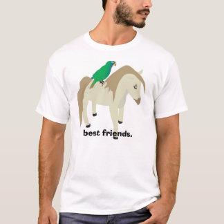 Parrot & Pony - best friends. T-Shirt