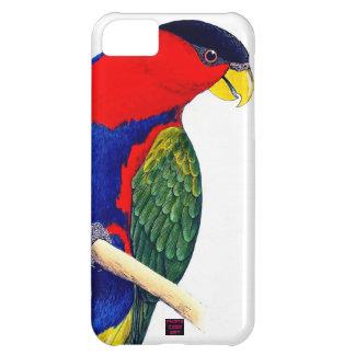 Parrot Red Blue Tropical Rainforest Bird iPhone 5C Case