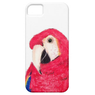 Parrot Red iPhone 5 Covers