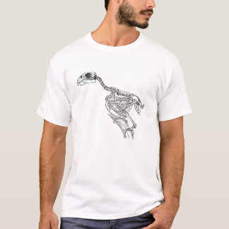 Parrot Skeleton T-Shirt
