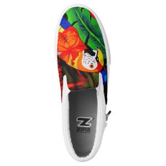 Parrot Sneaker Slip On Shoes