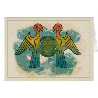 Parrot Sun Card