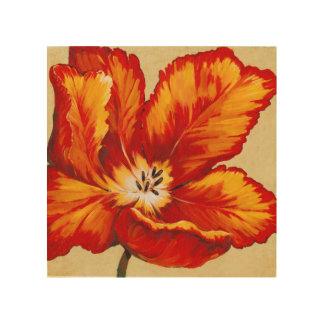 Parrot Tulip I Wood Wall Art