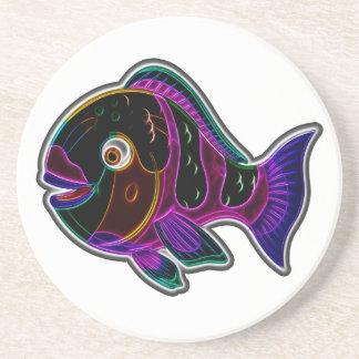 Parrotfish Coaster
