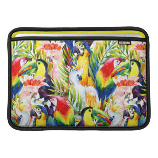 Parrots And Palm Leaves MacBook Air Sleeve