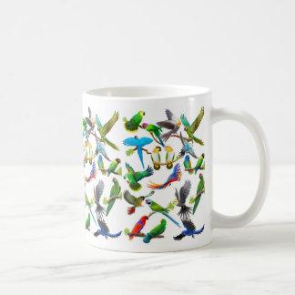 Parrots Galore Mug