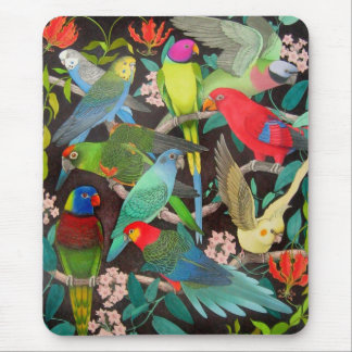 Parrots of the World II Mouse Pad