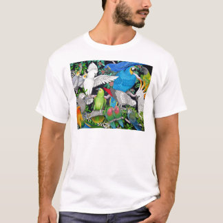 Parrots of the World T-Shirt