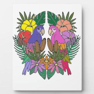 Parrots Plaque