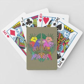 Parrots Poker Deck