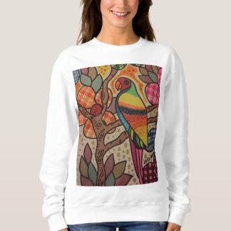 Parrot's smile sweatshirt