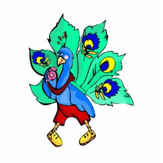 Parry Peacock Cut Out