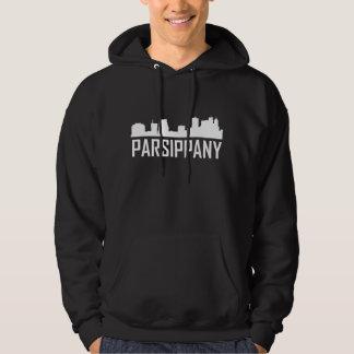 Parsippany New Jersey City Skyline Hoodie