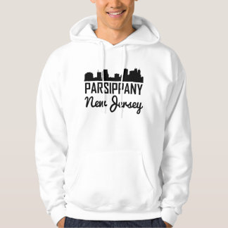 Parsippany New Jersey Skyline Hoodie
