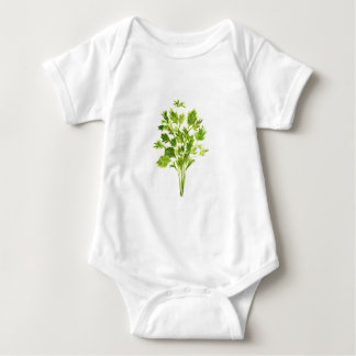 Parsley herbs Parsley print Baby Bodysuit