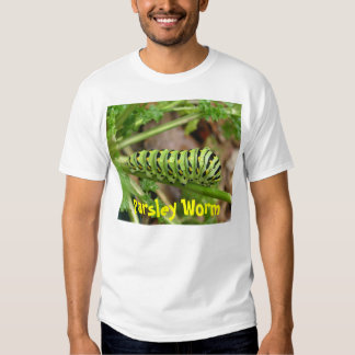Parsley worm, Parsley Worm Tee Shirts