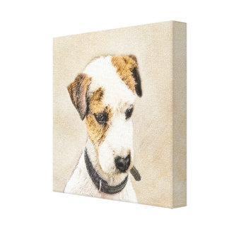 Parson Jack Russell Terrier Canvas Print