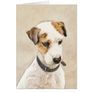 Parson Jack Russell Terrier Card