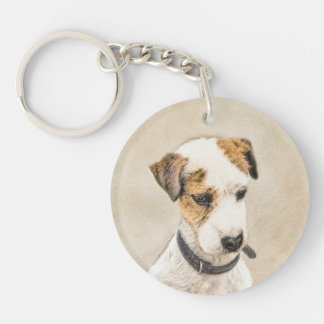 Parson Jack Russell Terrier Key Ring