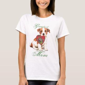 Parson Russell Terrier Heart Mom T-Shirt