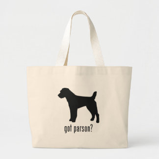 Parson Russell Terrier Jumbo Tote Bag