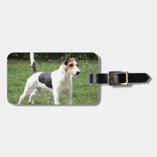 parson russell terrier luggage tag