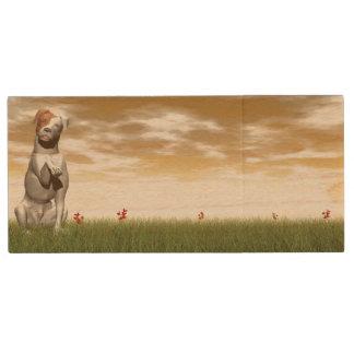 Parsons dog wood USB flash drive