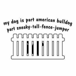 Part American Bulldog Part Fence-Jumper Photo Cut Out