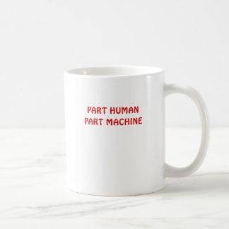 Part Human Part Machine Basic White Mug