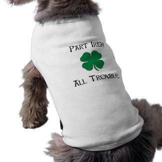 Part Irish Sleeveless Dog Shirt