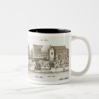 Part of the City of Westminster, 1647 (engraving) Two-Tone Coffee Mug
