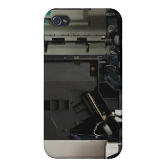 Part of the electronic interior of a laser printer iPhone 4 cover