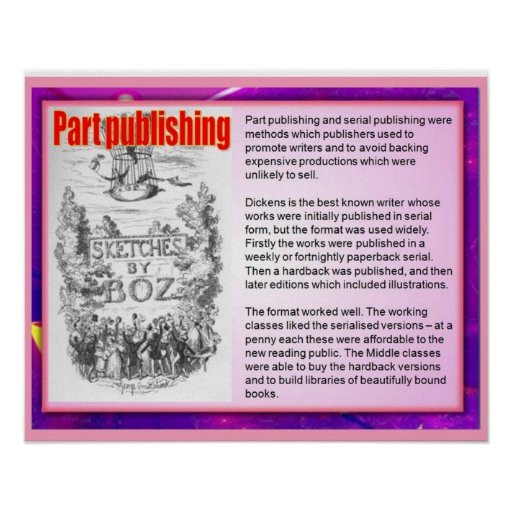 Part Publishing, a Victorian invention Poster