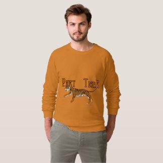 Part Tiger Men's Raglan Sweatshirt