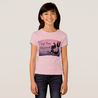 Part Time Mermaid Pink Ocean at Sunset Shirt