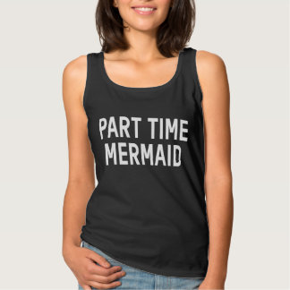Part Time Mermaid Singlet