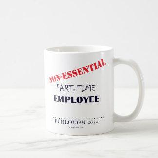Part-Time Basic White Mug