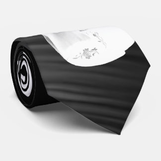 PART WHITE VIOLIN -TIE-ON BLACK TIE