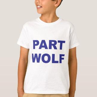 Part Wolf Blue T-Shirt