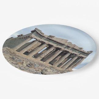 Parthenon 1 paper plate