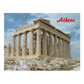 Parthenon - Athens Postcard