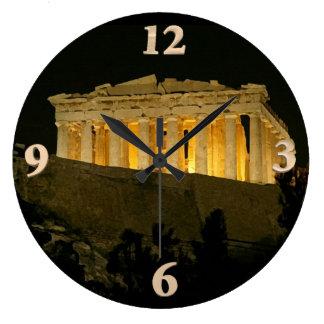 Parthenon Large Clock