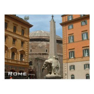 Parthenon - Rome Postcard