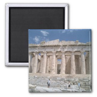 Parthenon Square Magnet