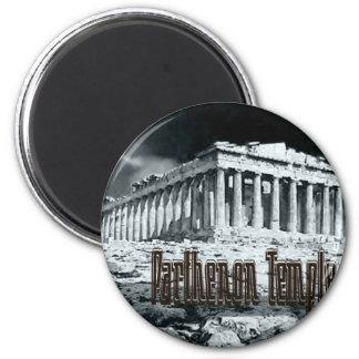 Parthenon temple series magnet