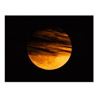 Partial Lunar Eclipse Postcard