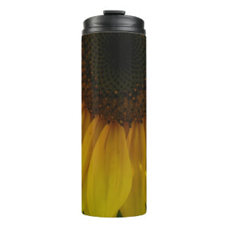 Partial Sunflower Thermal Tumbler