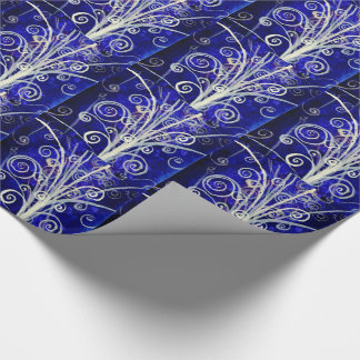 Particle Bouquet Holiday Gift Wrap